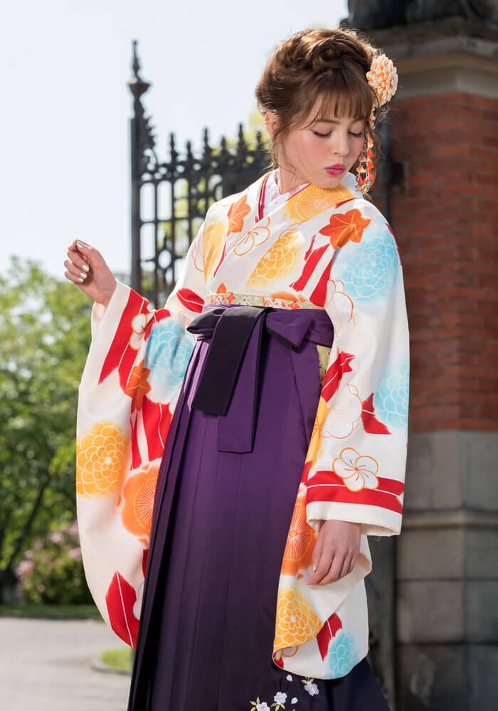 宅配でオシャレな袴をレンタルしたい方にぴったりなCCC571_MBS061