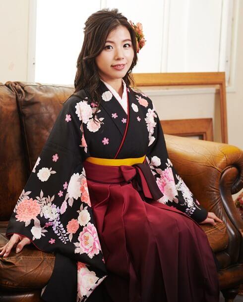 ネットレンタルできる京都さがの館の卒業式袴