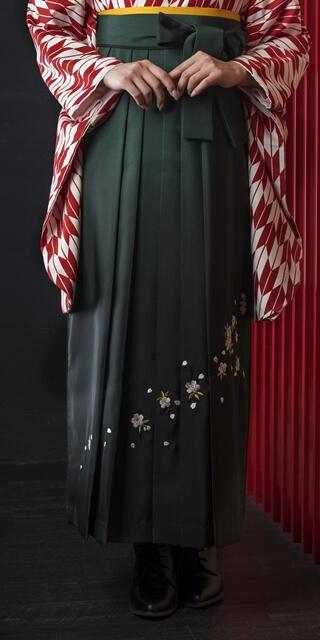袴:フカミドリボカシシシュウ