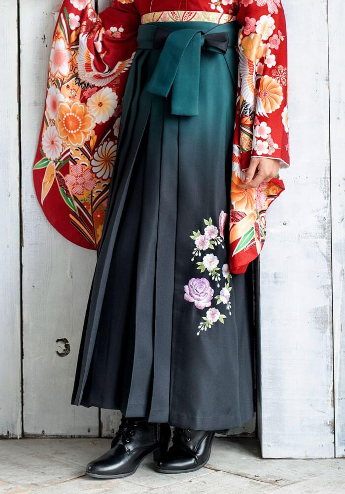 袴:グリーンボカシバラシシュウ
