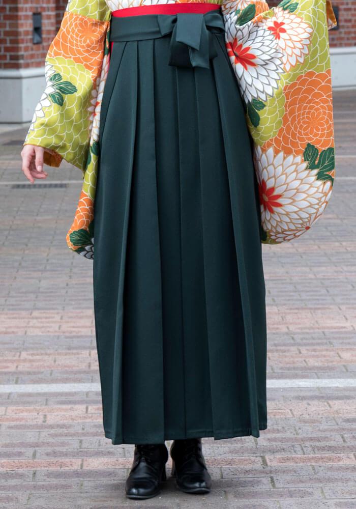 緑の袴を宅配でレンタルするなら