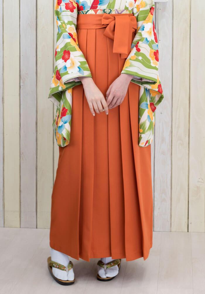 袴:オレンジ