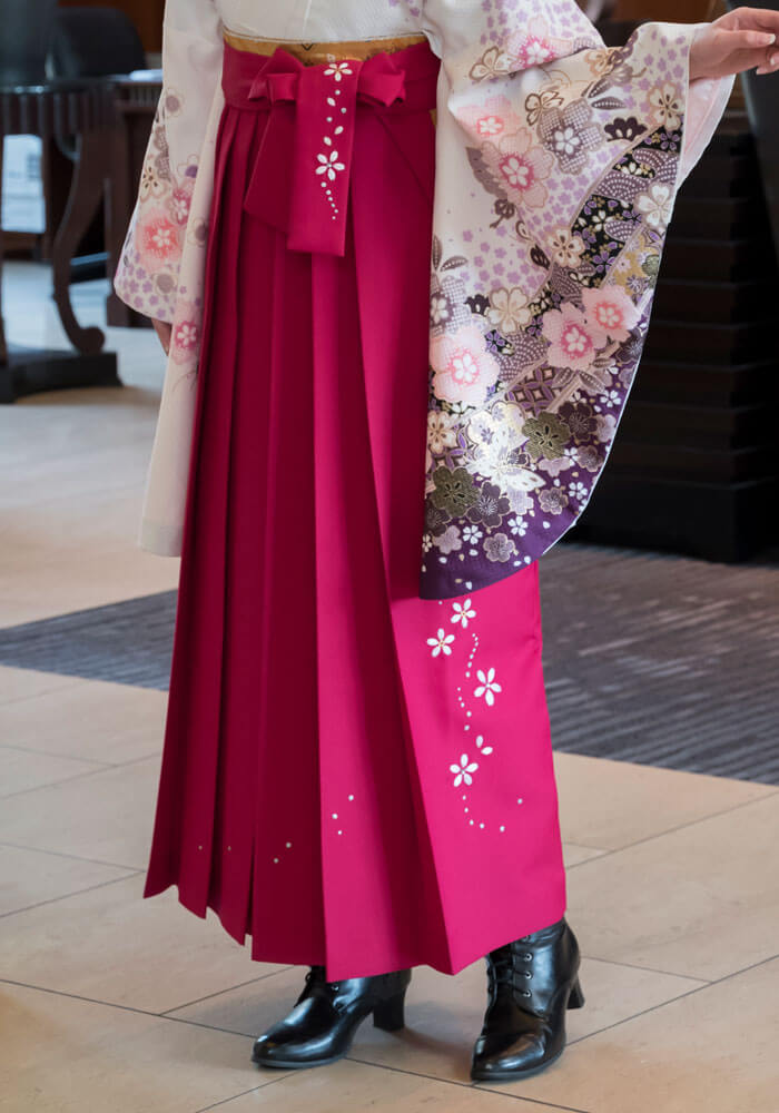 【袴】ローズシシュウ桜
